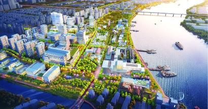 """从""""零""""起步 环上海交大经济圈冲击千亿年产值"""